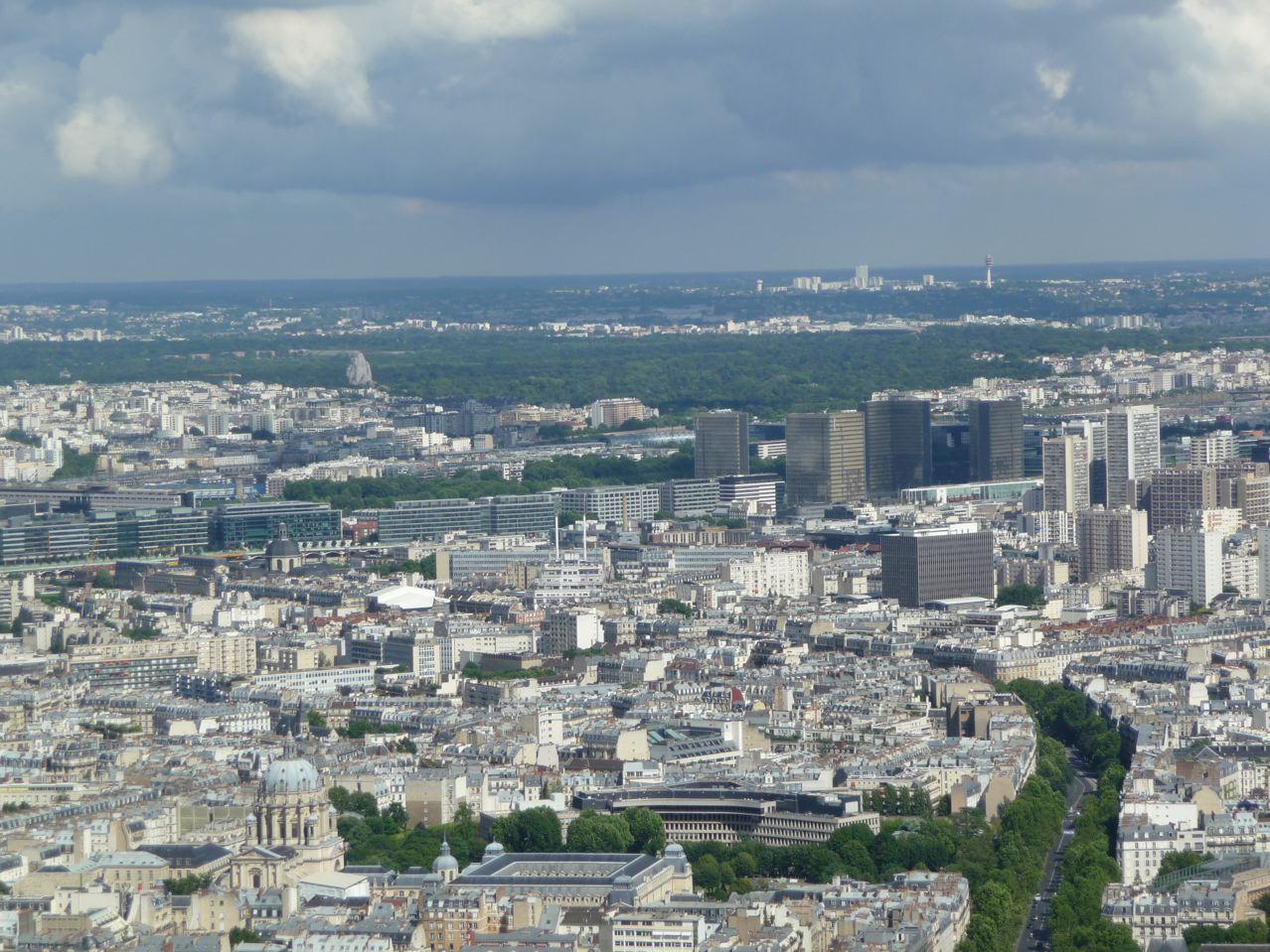 Découverte de Paris depuis le sommet de la Tour Montparnasse, Paris 15e (75)