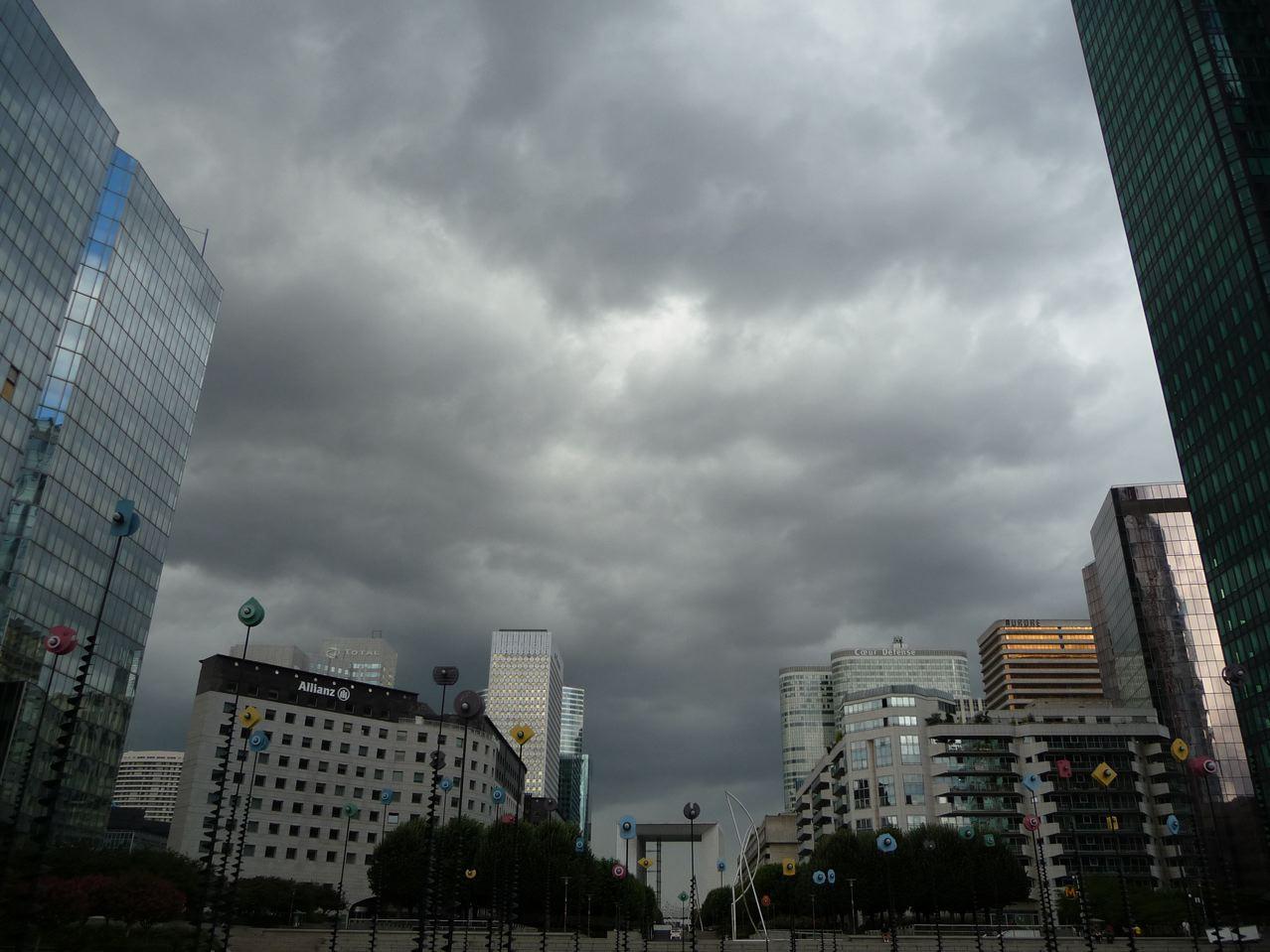 Temps de pluie sur la région parisienne