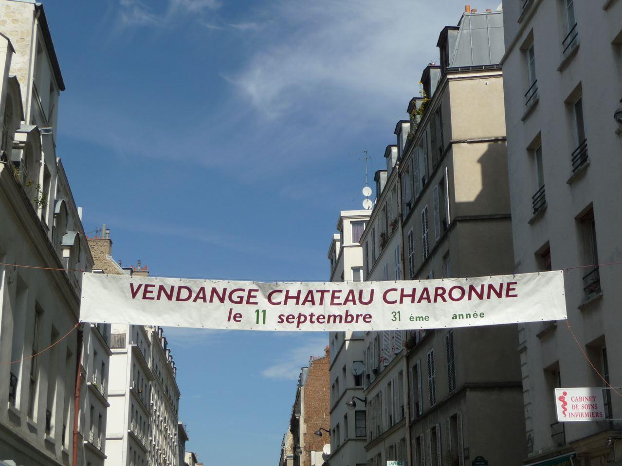 Vigne, treille et raisin dans Paris