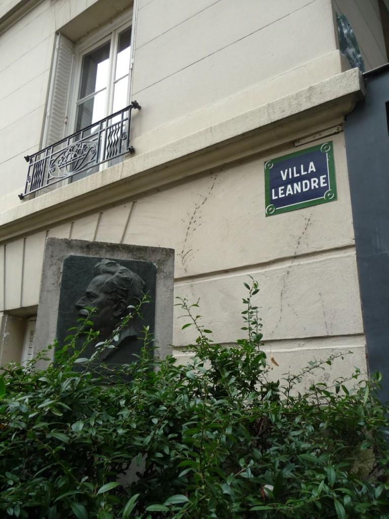 La Villa Léandre, un village dans Paris
