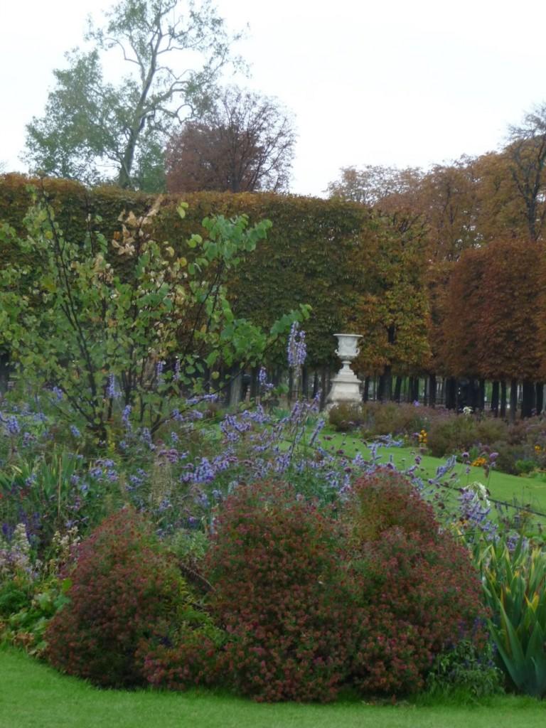 Couleurs et feuillages d'automne dans le Jardin des Tuileries