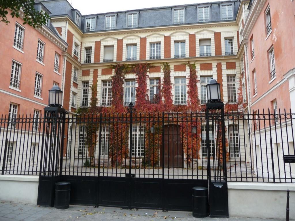 L'automne dans le Marais, Paris 3e (75)