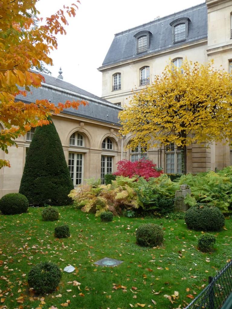 L'automne dans les parcs et jardins de Paris