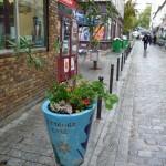 Potée et graffs dans Belleville, Paris 20e (75)