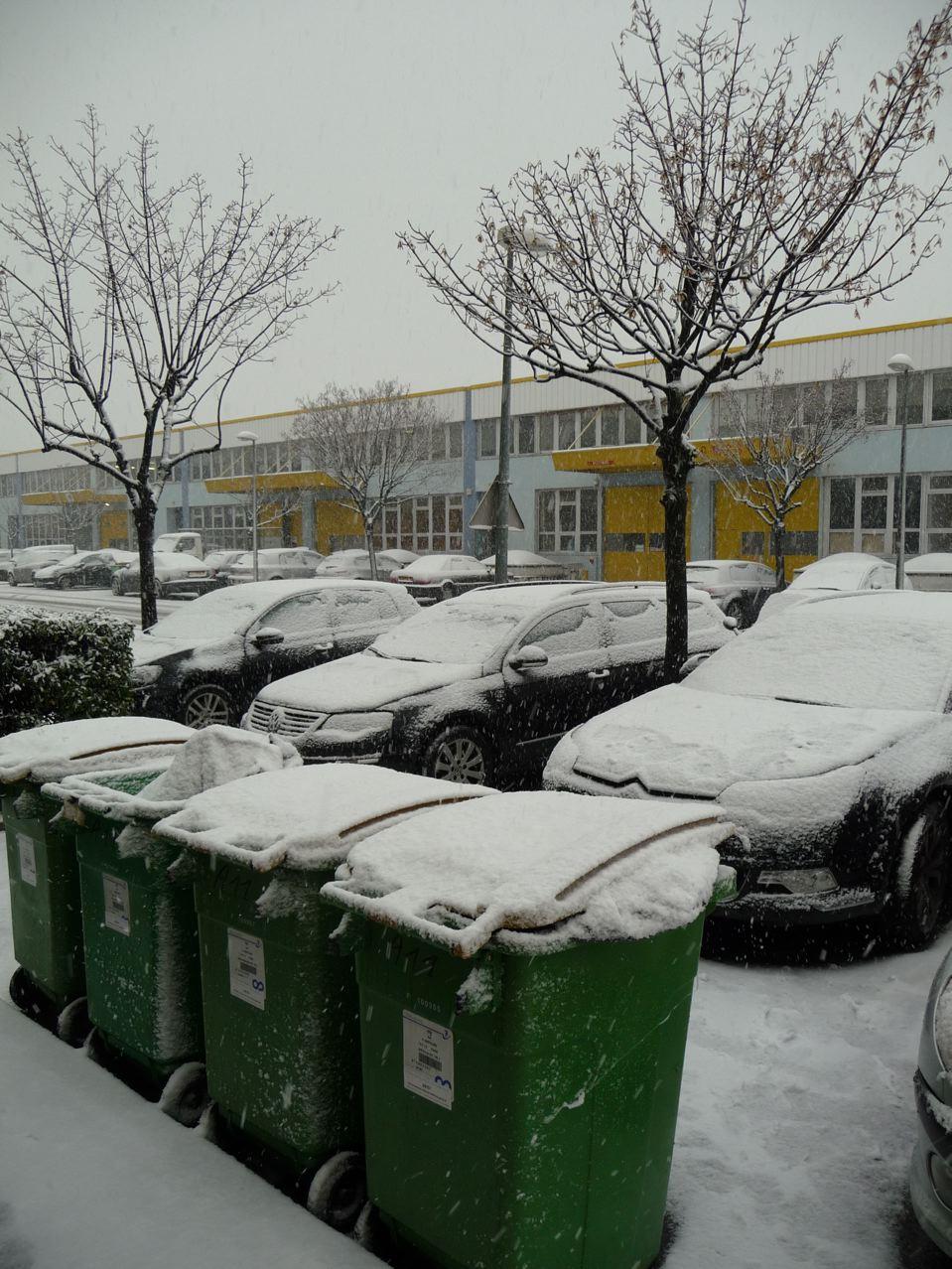 Importante chute de neige dans Paris et sur la région parisienne