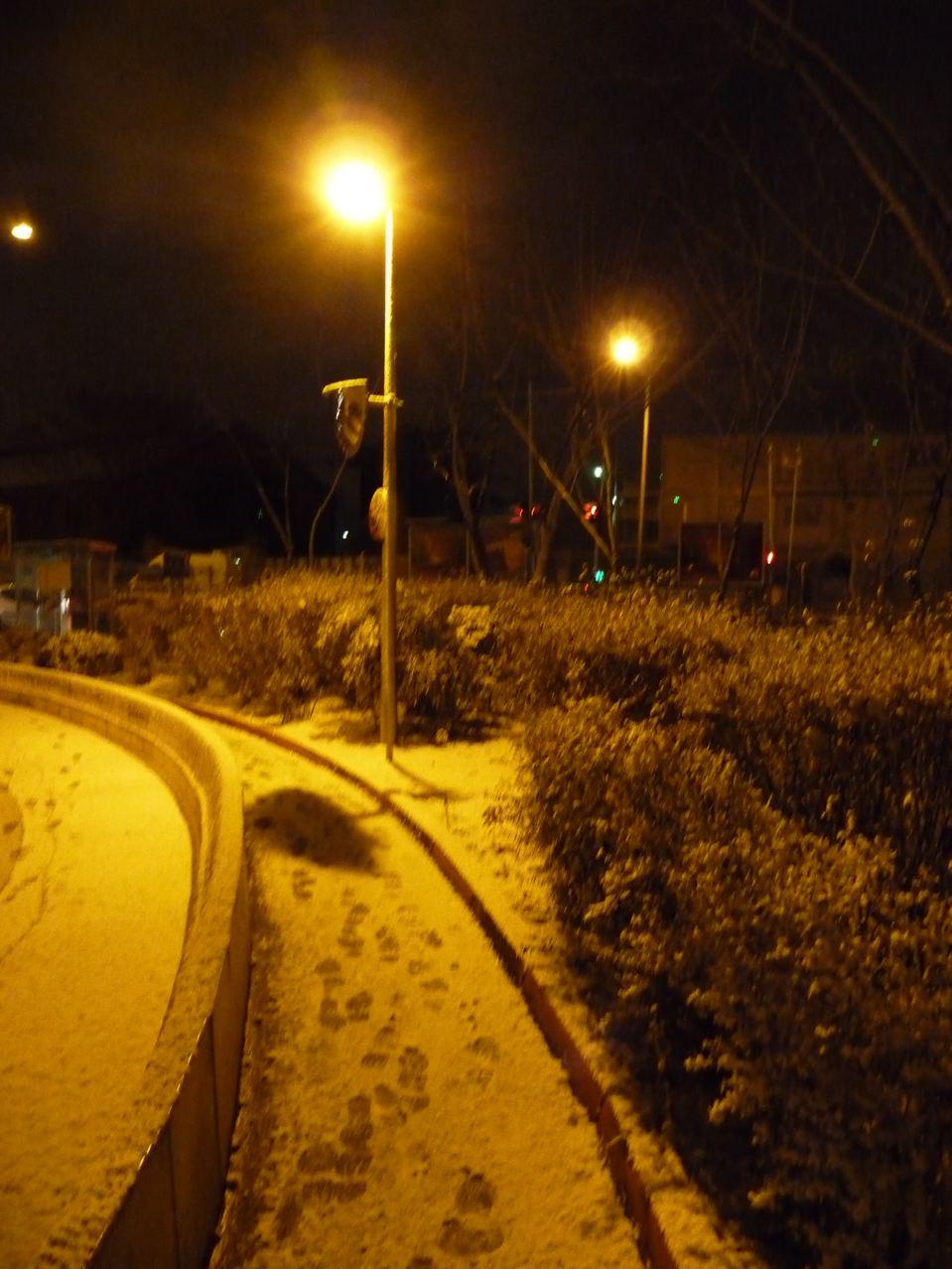 Nouvel épisode de neige sur Paris