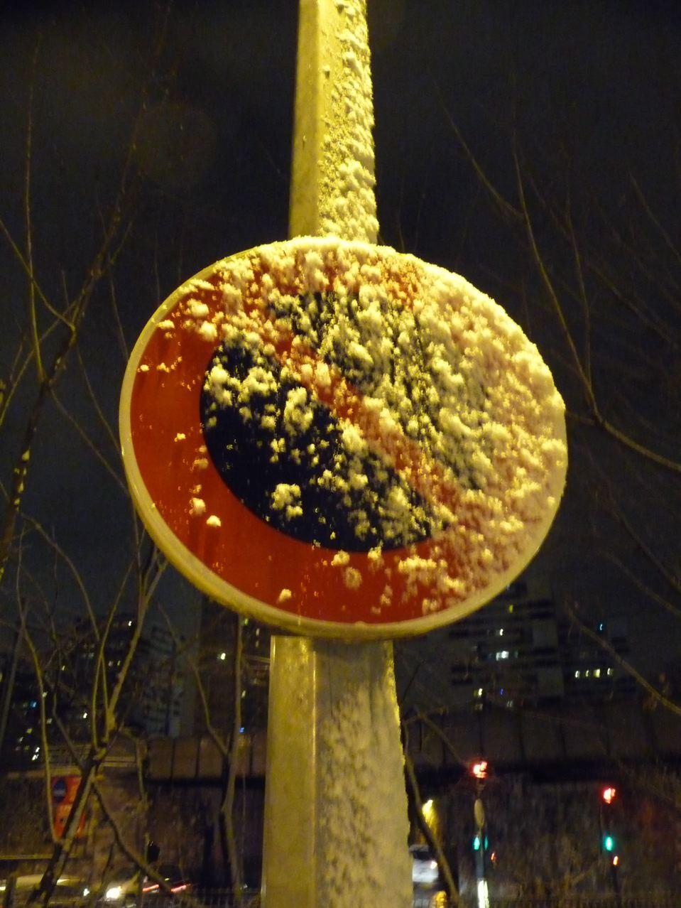 Nouvel épisode neigeux sur Paris