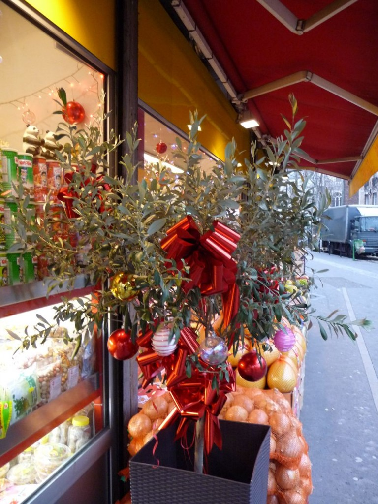 Arbre de Noël : olivier