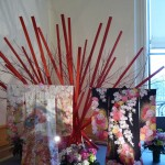 Kimonos en soie brodés