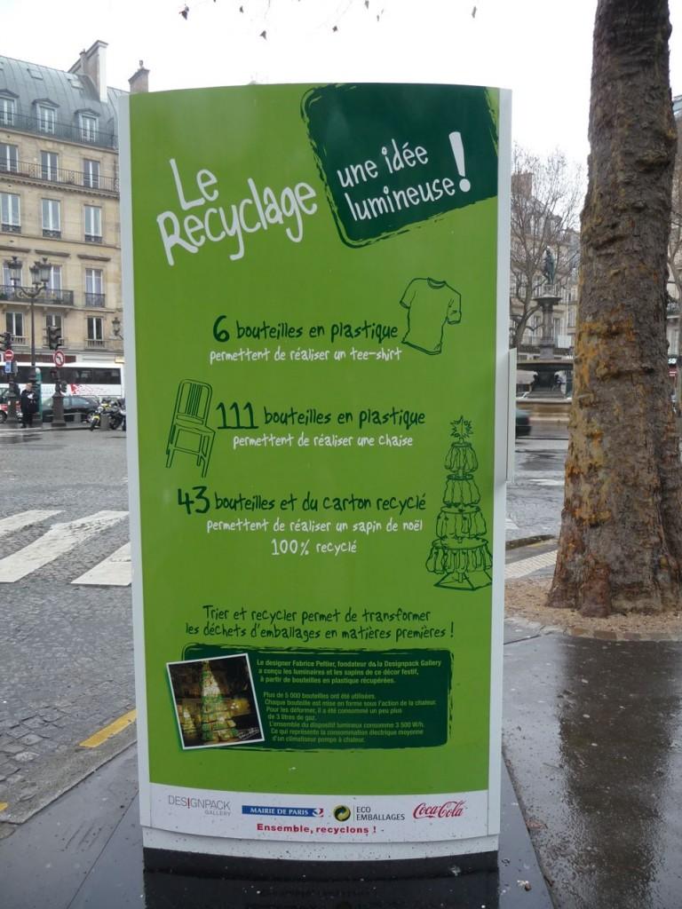 Le recyclage : une idée lumineuse de Fabrice Peltier