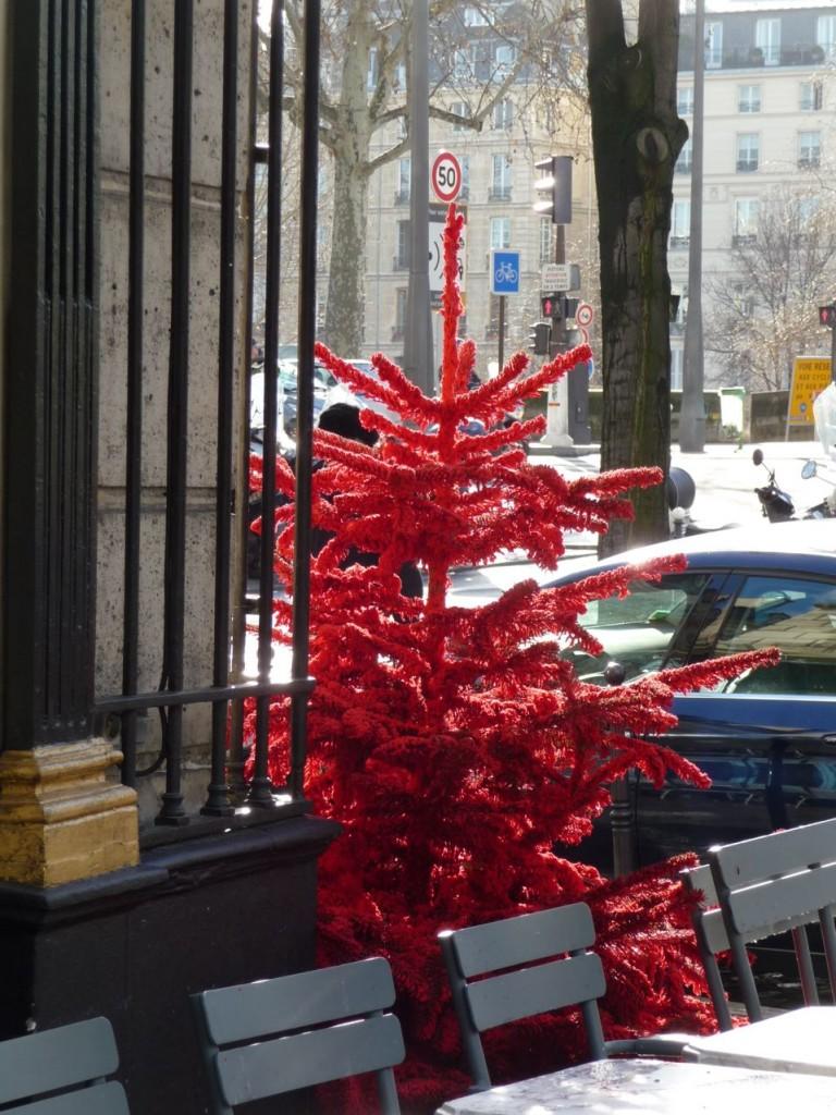 Décorations de Noël dans Paris