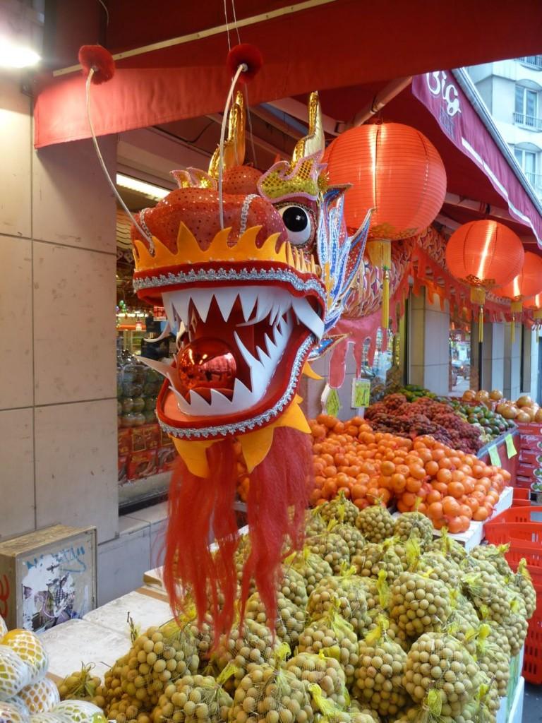 Nouvel an chinois dans le 13e arrondissement de Paris