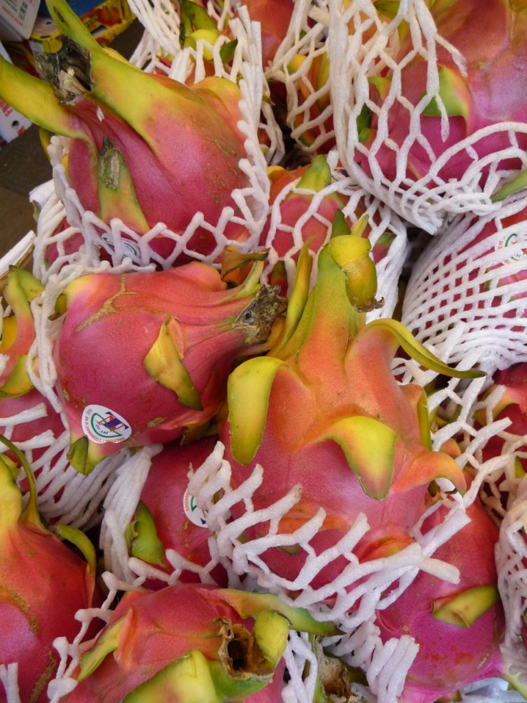Fruits du dragon (Hylocereus undatus)
