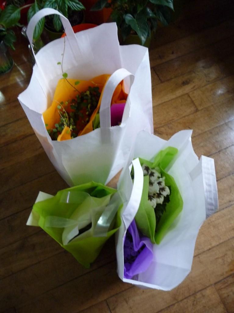Shopping de potées fleuries pour la Saint-Valentin