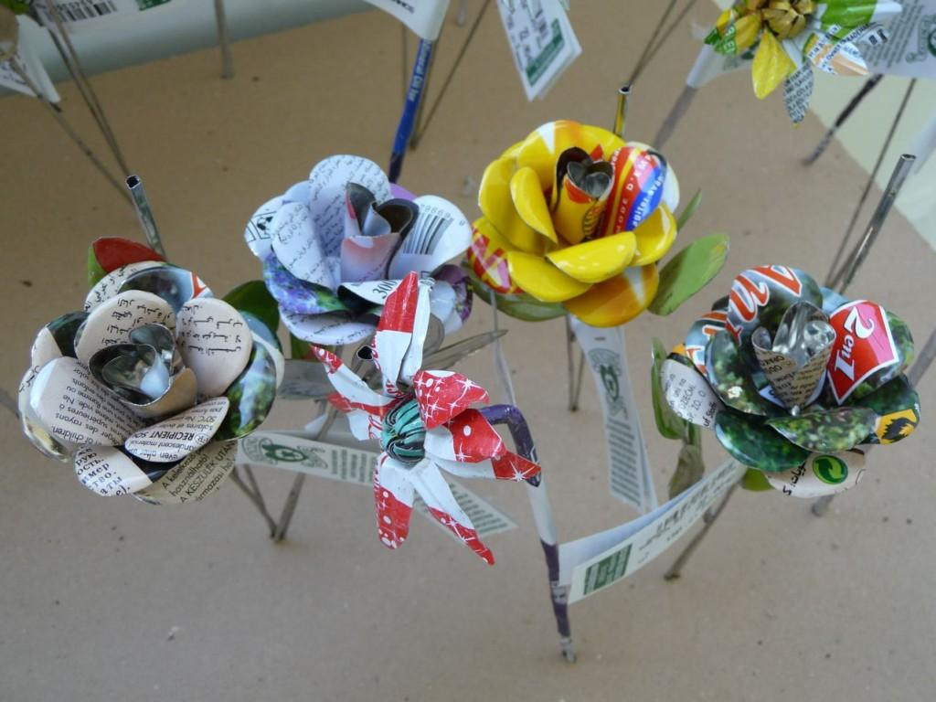 L'art du recyclage par Fabrice Peltier au BHV
