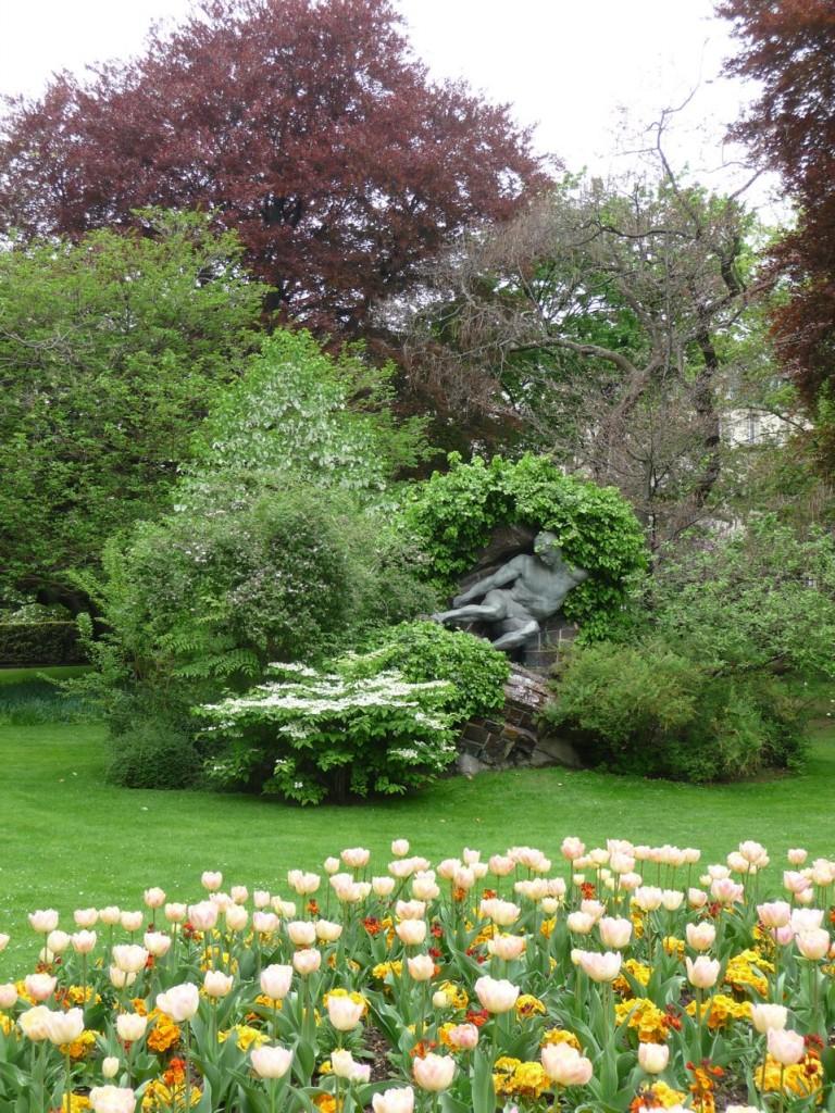 Art dans les jardins de Paris