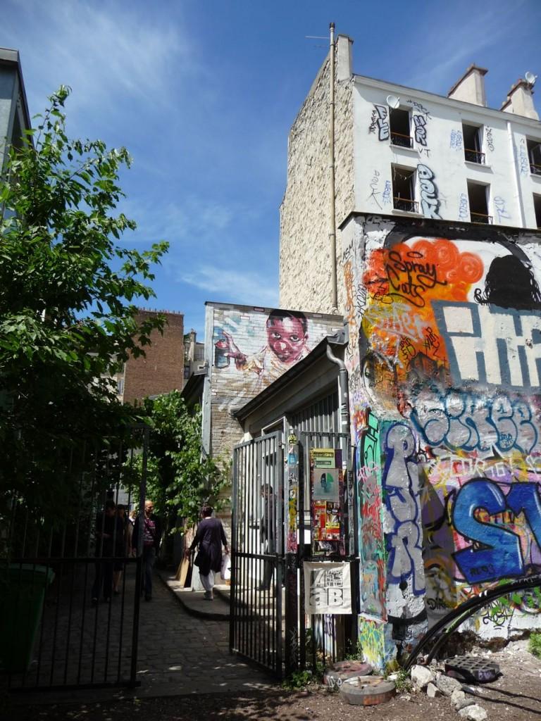 Ateliers d'artistes dans Belleville, Paris 20e (75)