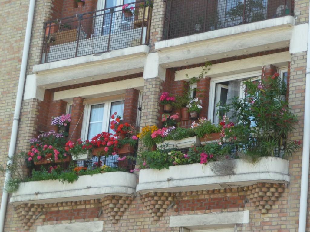 Balcon parisien, rue Georges Desplas, Paris 5e (75)