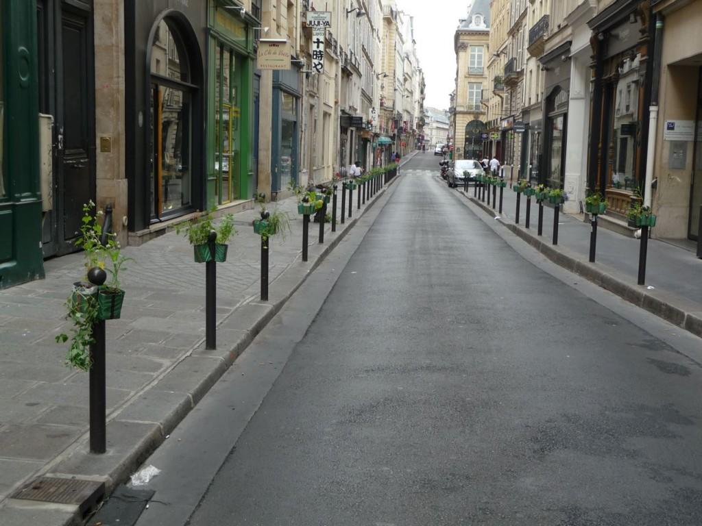 Rangée de Potogreen, rue Saint-Anne, Paris 2e (75)