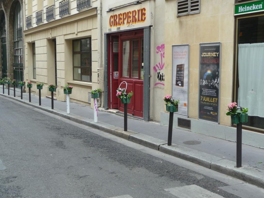 Potogreen dans la rue de Hanovre, Paris 2e (75)