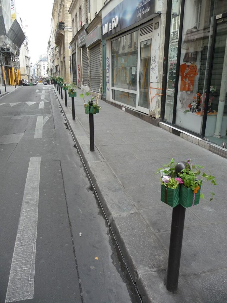 Potogreen dans la rue Poissonnière, Paris 2e (75)