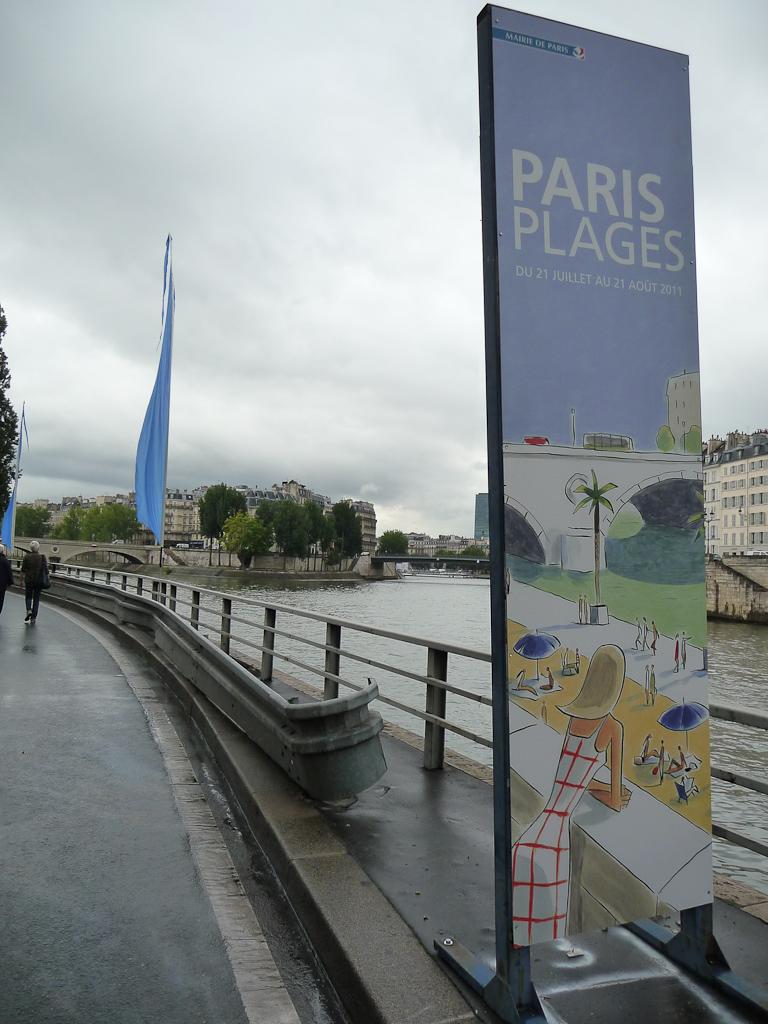 Paris Plages en bord de Seine, Paris (75)