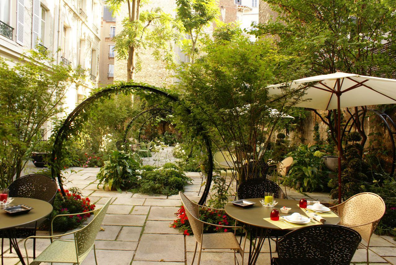 Jardin secret de Paris