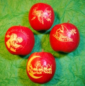 Pommes marquées, photo SRHM