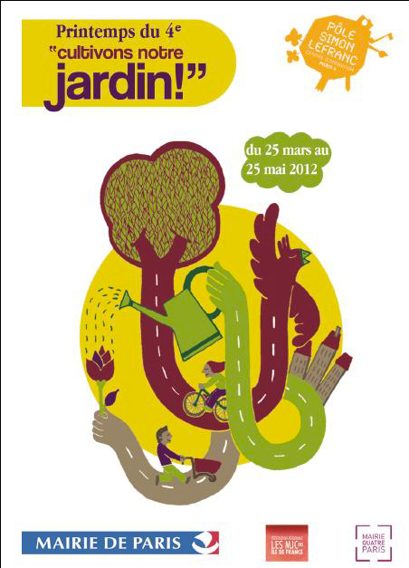 """Printemps du 4e """"Cultivons notre jardin"""""""