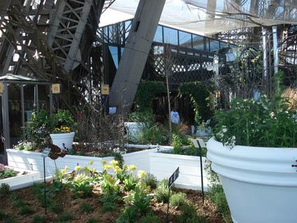 Jardin éphémère sur la Tour Eiffel
