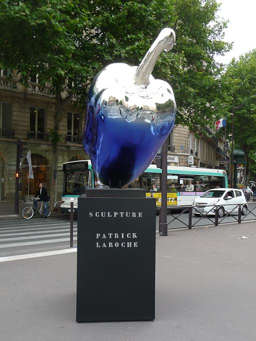 Vegetables, création Patrick Laroche, place René Char, Paris 7e (75)