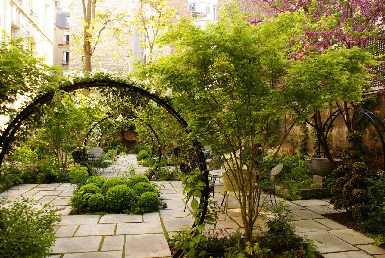 Jardin secret dans Paris