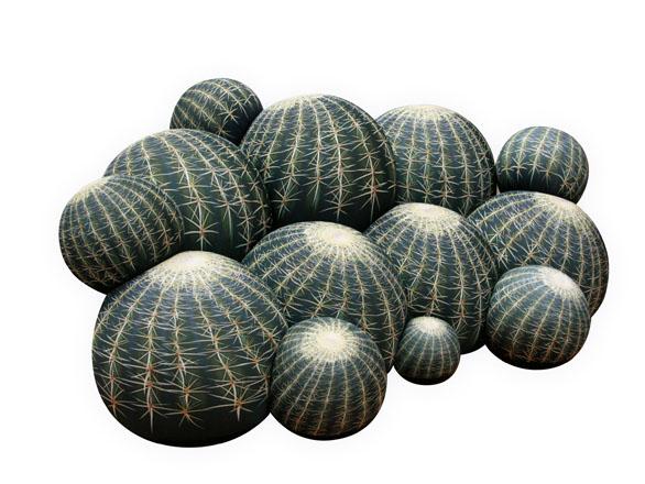 Canapé cactus de Cerruti Baleri