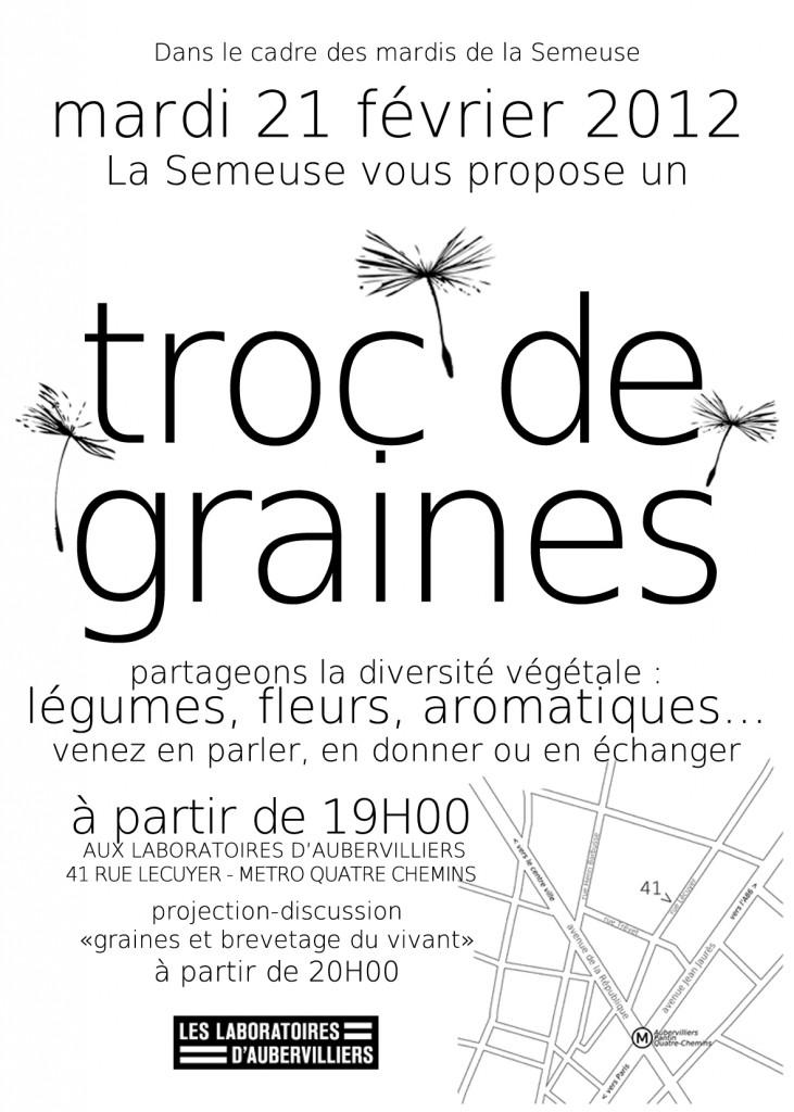 Flyer Troc de graines