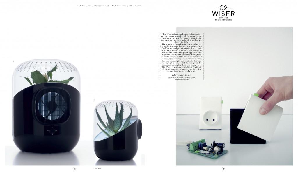 Purificateur d'air par les plantes, Mathieu Lehanneur, ouvrage pages 18 et 19