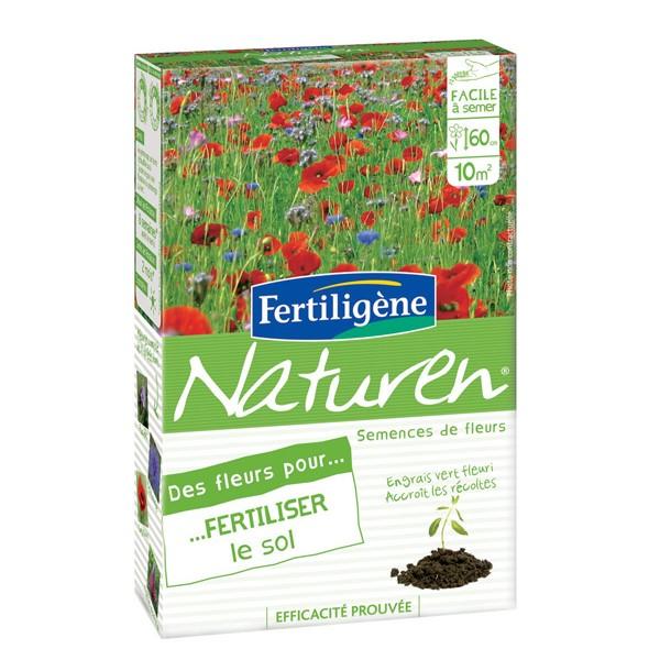 Des fleurs pour fertiliser le sol